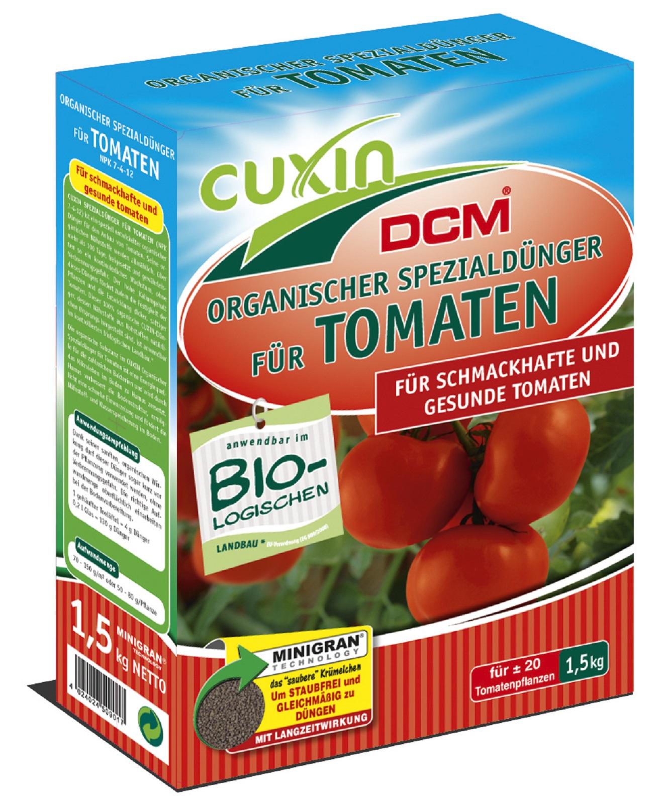 Cuxin  Dünger Organischer Dünger Tomaten Garten Gemüse Bio 1,5 kg