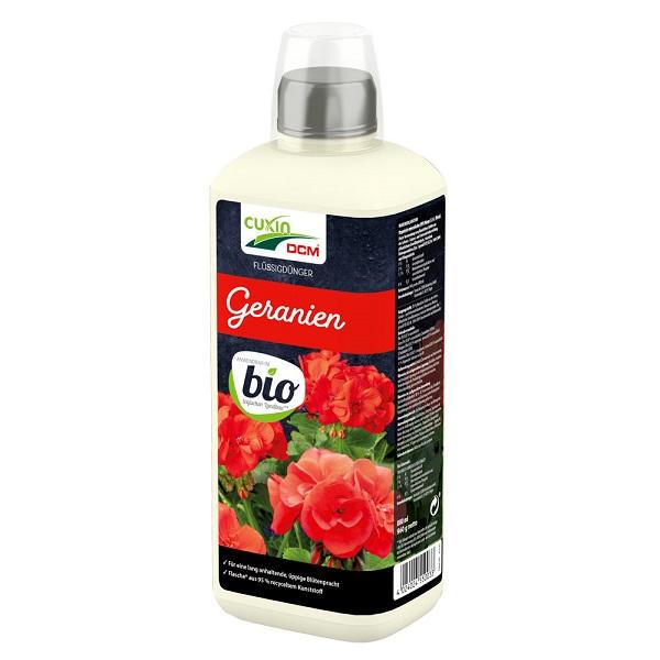 Cuxin Flüssigdünger  Geranien Bio 800 ml Dünger Geranien