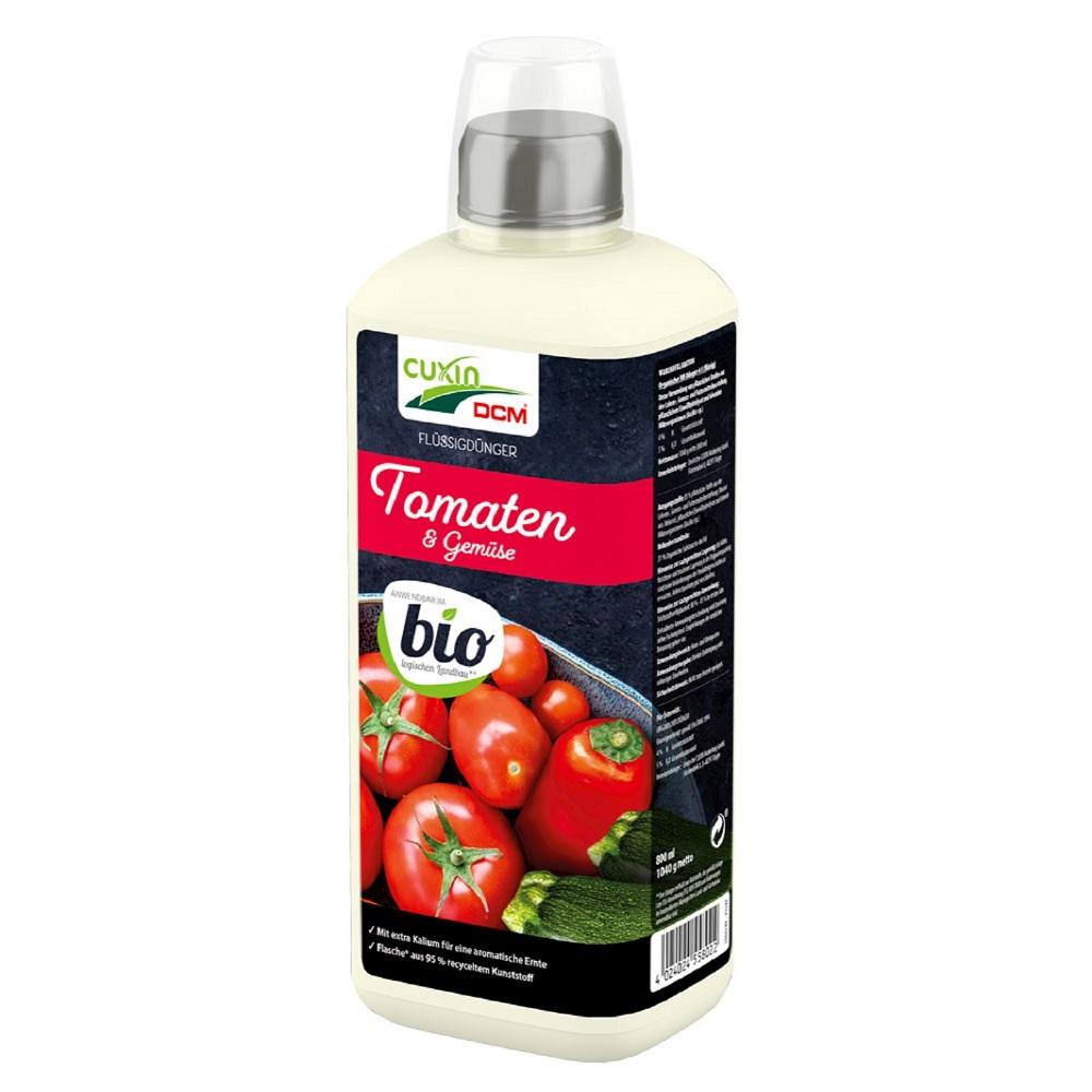 Cuxin Flüssigdünger Tomaten und Gemüse Bio 800 ml
