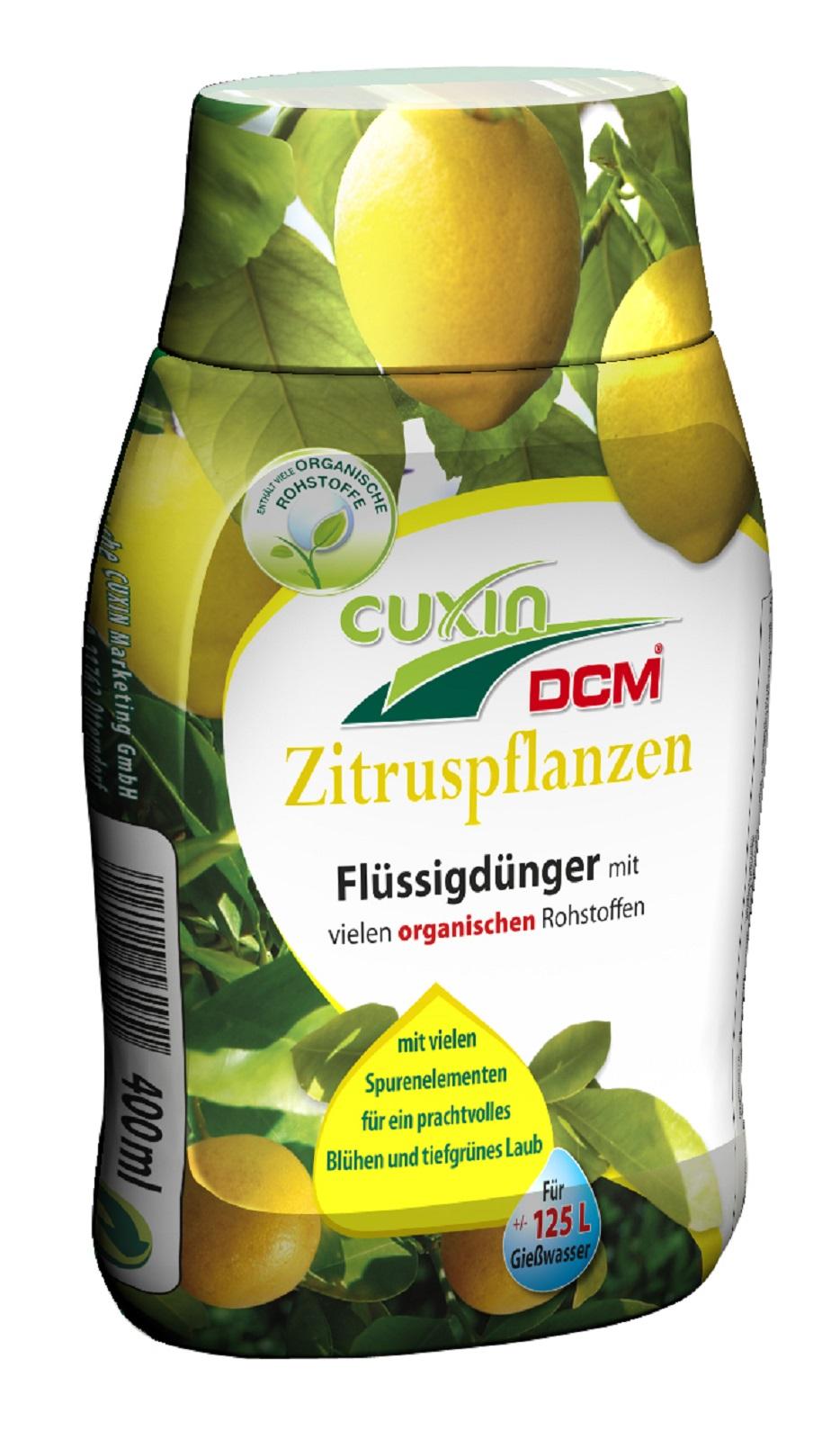 Flüssigdünger für Zitruspflanzen 400 ml