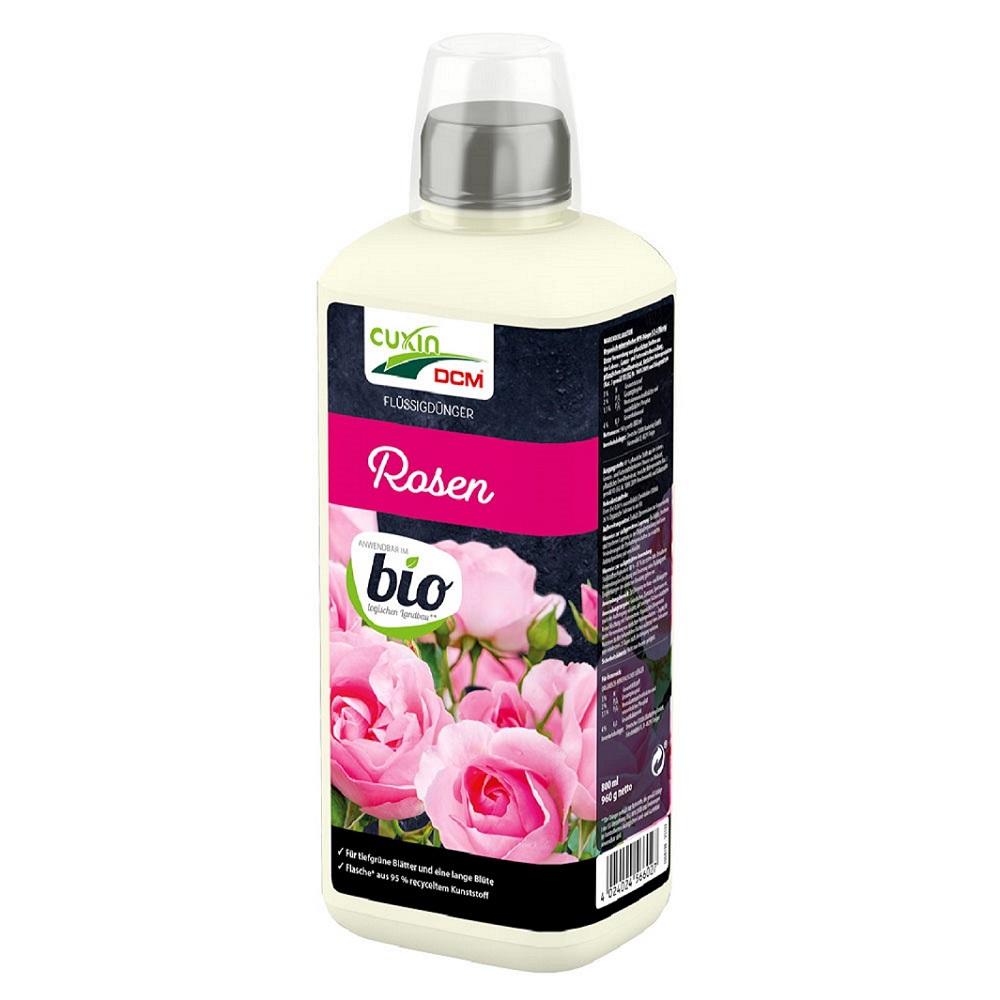 Cuxin DCM Flüssigdünger  Rosen 800 ml  Dünger flüssig  Bio