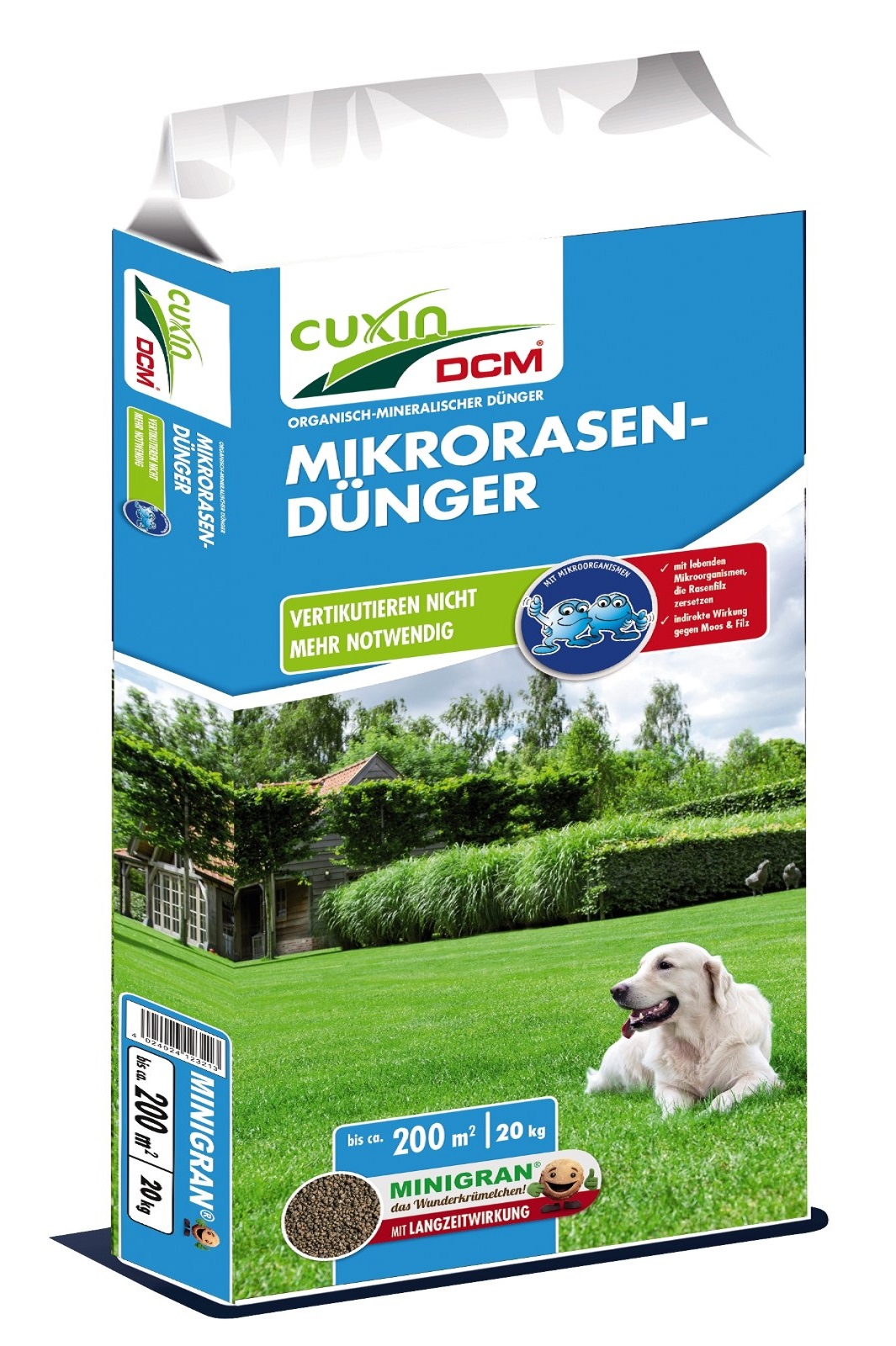 Cuxin DCM Mikro Rasendünger 20 Kg