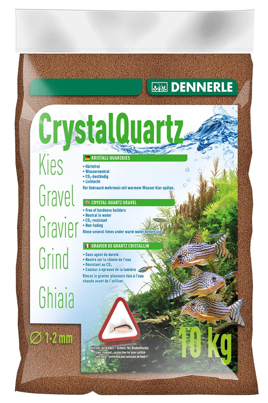 Dennerle Kristall-Quarzkies rehbraun 10 Kg