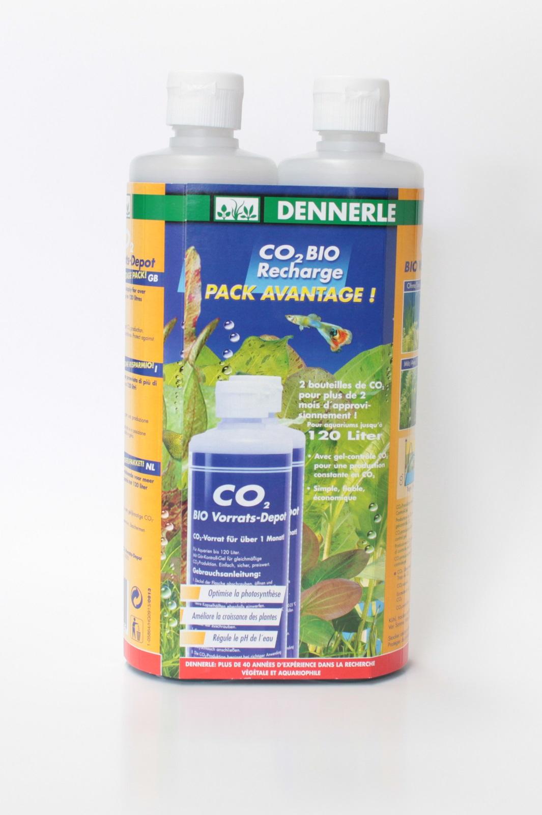Bio-CO2 Vorratsdepot Vorteilspack 2 Flaschen