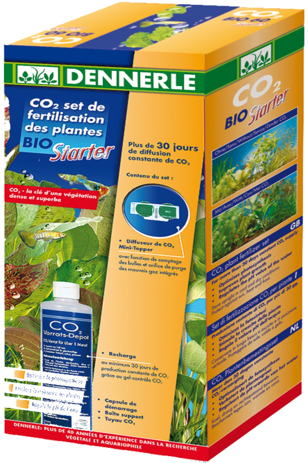 CO2 Pflanzen Dünger Set BIO Starter
