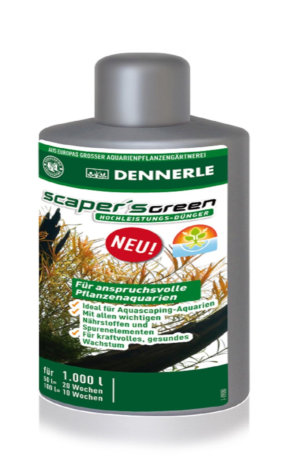 Dennerle  Scaper's Green-Dünger 100 ml für anspruchsvolle Aquariumpflanzen