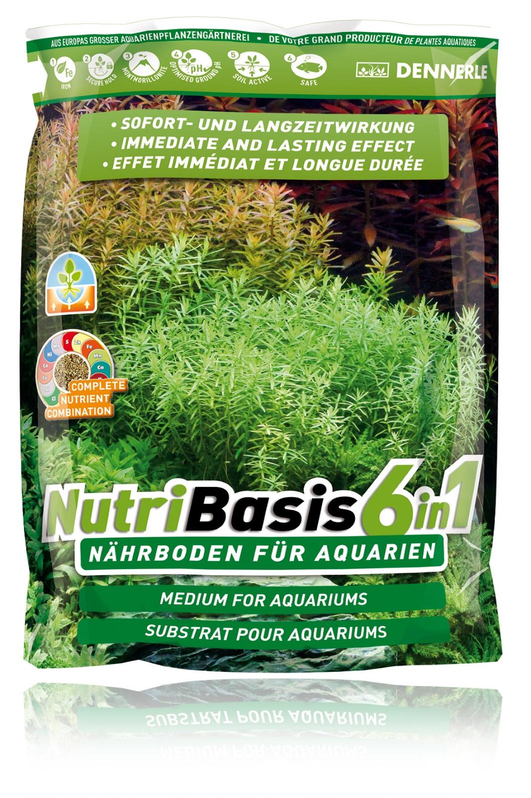 Dennerle  NutriBasis 6in1  Nährboden für Aquarium 4,8 kg