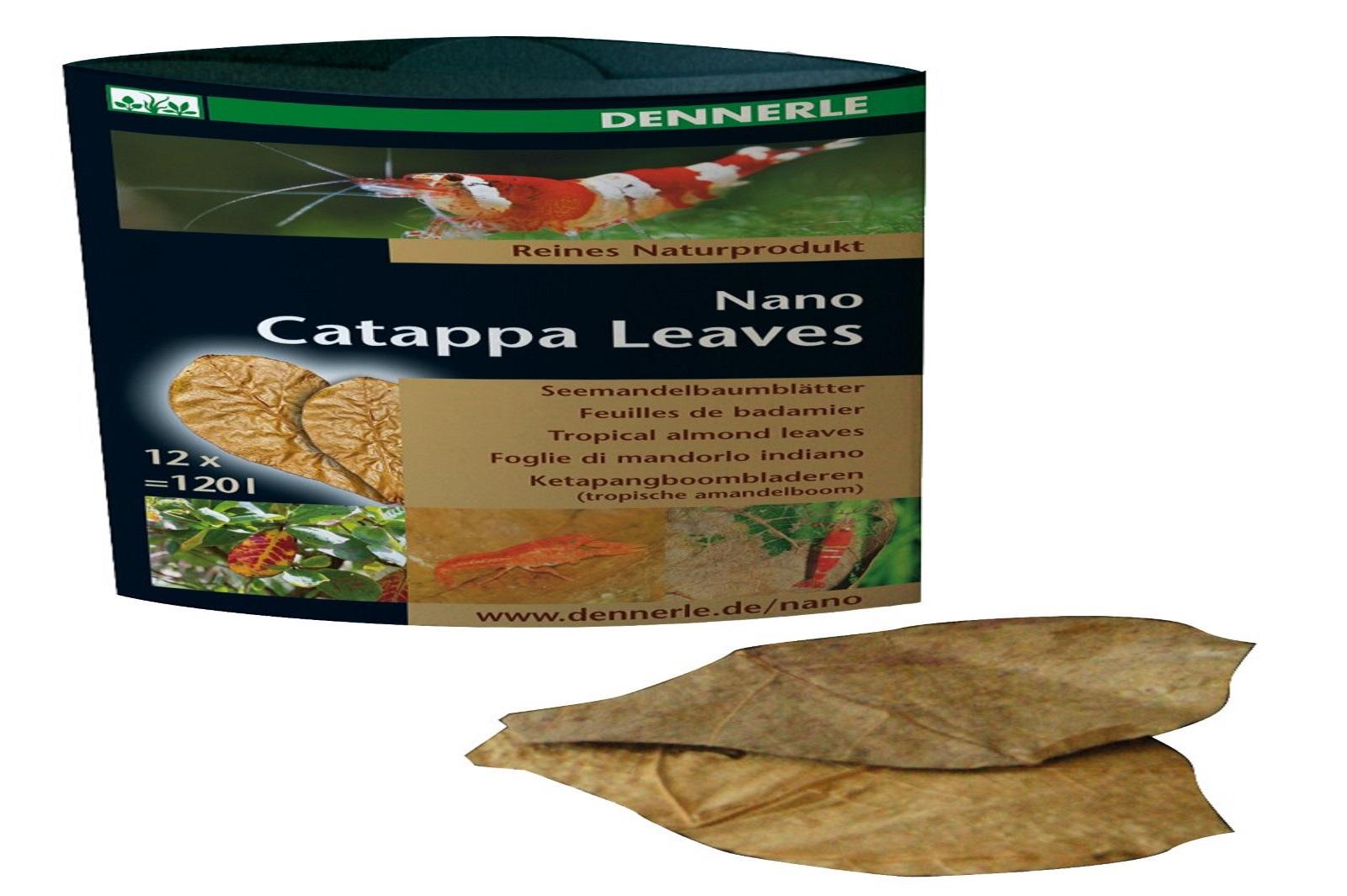 Dennerle Catappa Leaves Wasserpflege und Nahrungsergänzung für Garnelen Krebse