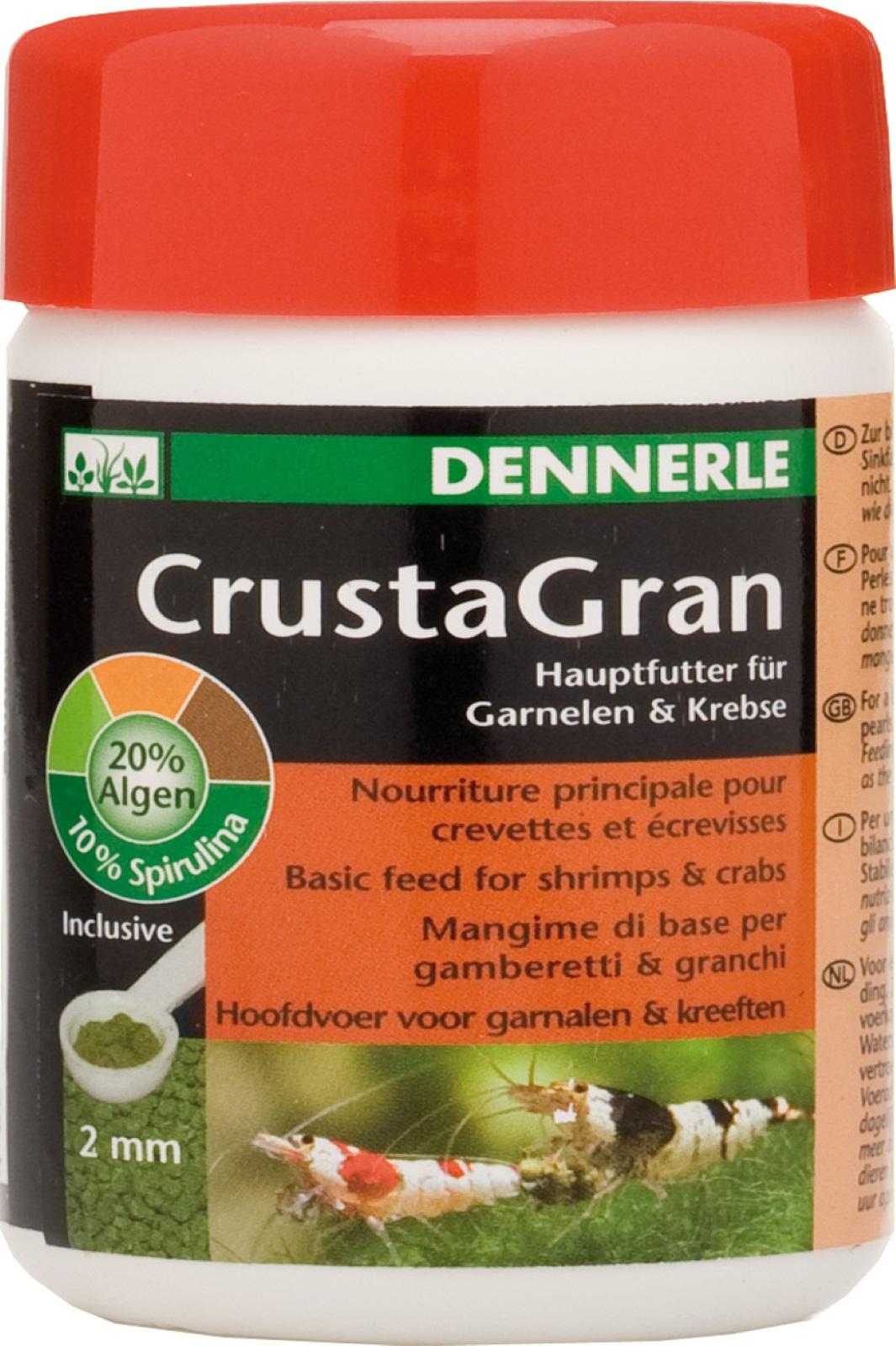 CrustaGran Hauptfutter für Garnelen und Krebse Granulatfutter 100 ml