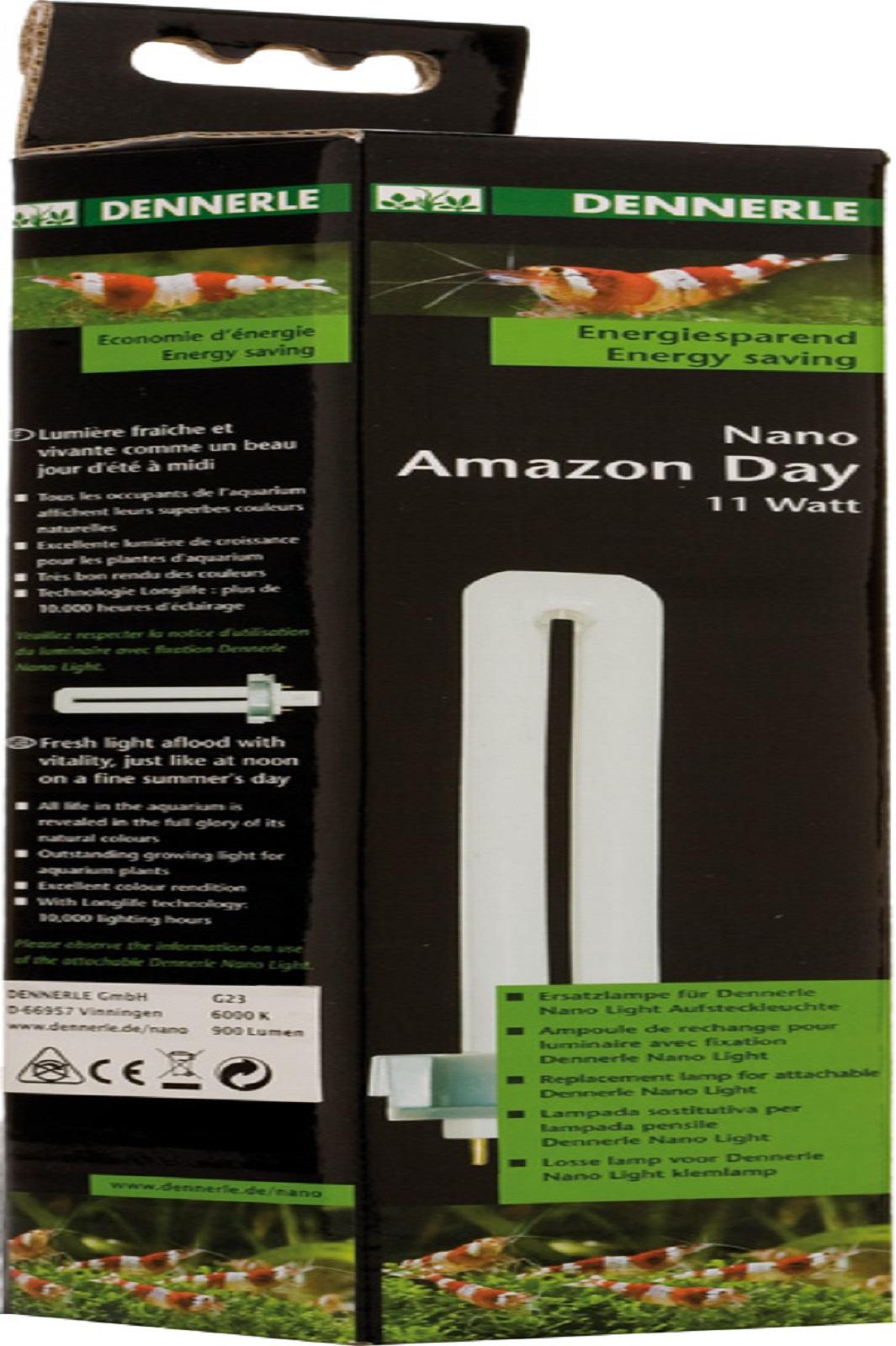 Dennerle Nano Amazon Day 11 W Leuchte  Aquarium Wuchslicht für Aquariumpflanzen