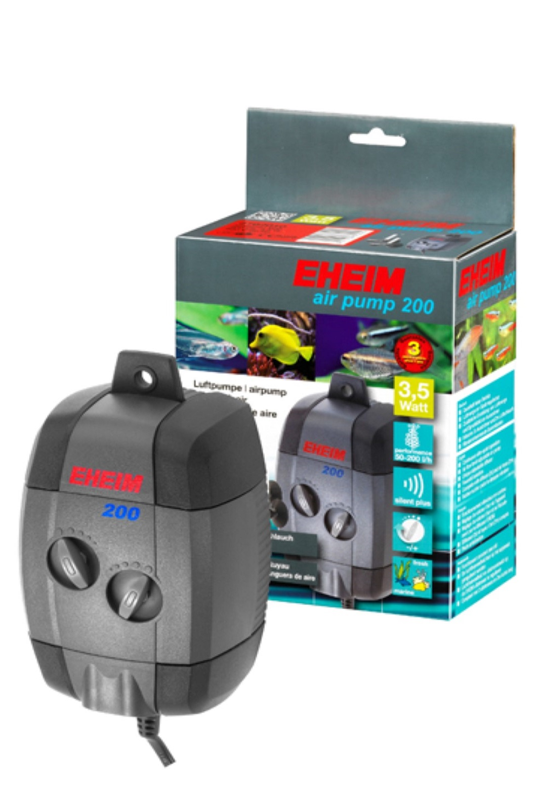 Eheim air pump 200 Pumpe Luftpumpe Aquarium