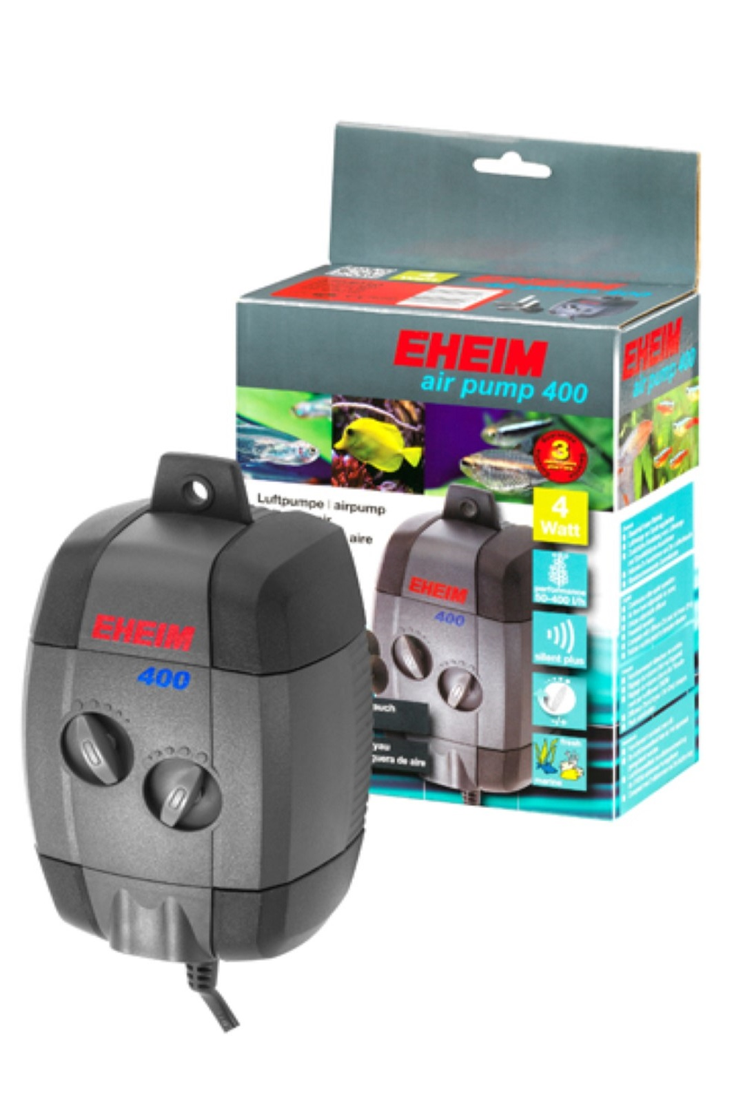 Eheim air pump 400 Pumpe Luftpumpe Aquarium