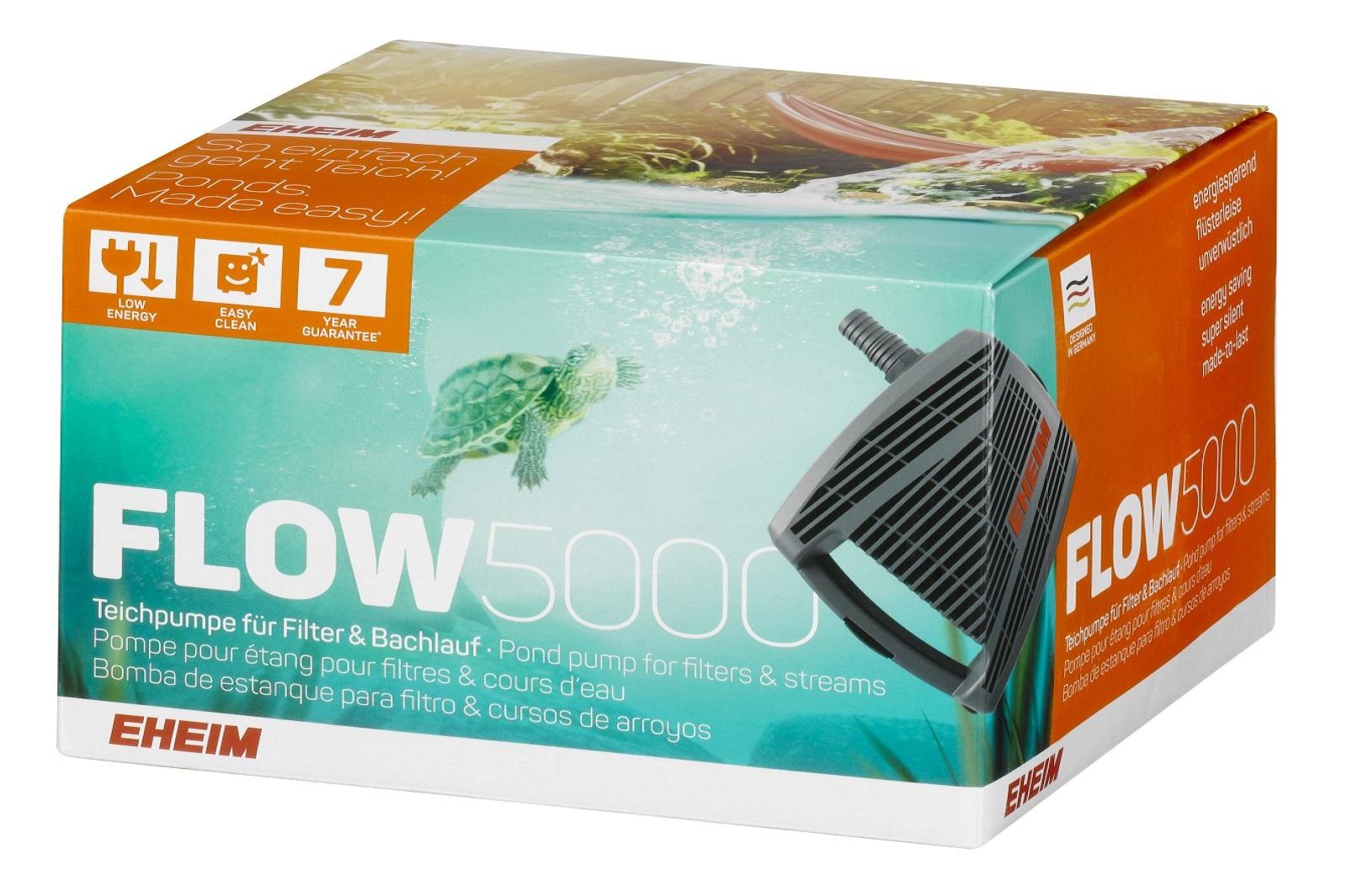 Eheim Flow5000 Teichpumpe für Filter & Bachlauf