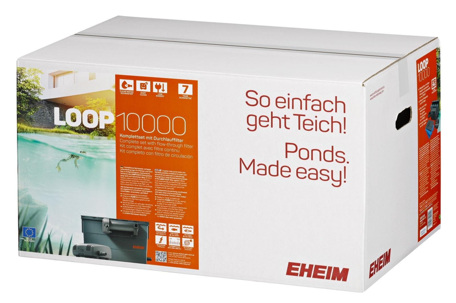 Eheim LOOP10000 l Komplett Set mit Durchlauffilter