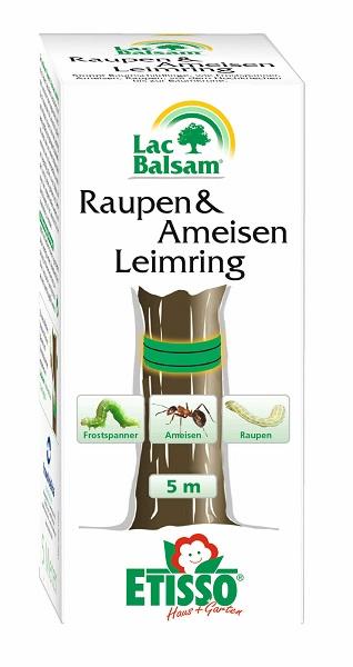 Etisso Lac Balsam Raupen und Ameisen Leimring 5 m