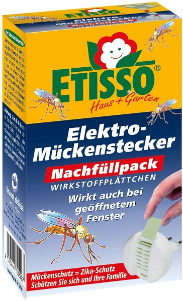 Etisso Elektro-Mückenstücker Nachfüllpack 20 Plättchen