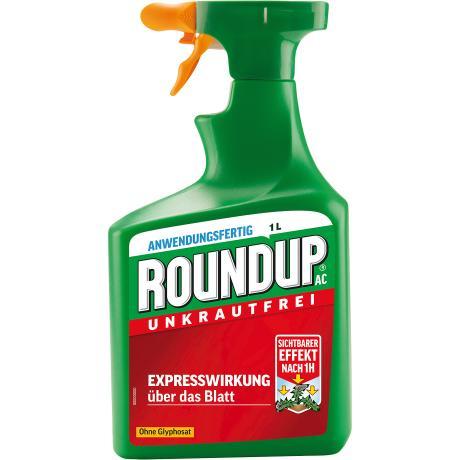 Roundup AC Unkrautfrei Unkrautvernichter Bekämpfung von Unkräutern Gräser 1 l