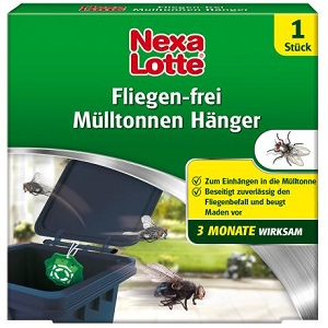 Nexa Lotte Mülltonnenhänger  Hänger mit Zitrusduft f. Müllltonne 1 Stk