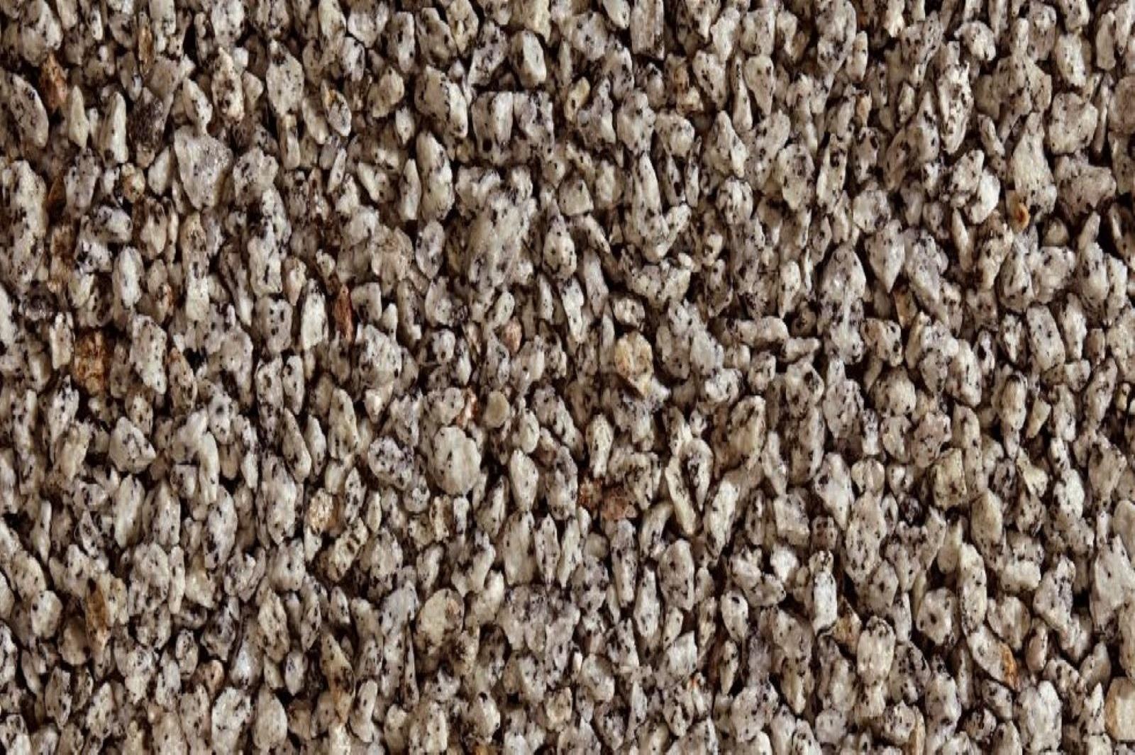 Gartensplitt Ziersplitt Granulat Granit weiß-schwarz gesprenkelt 10-16 mm 25 kg