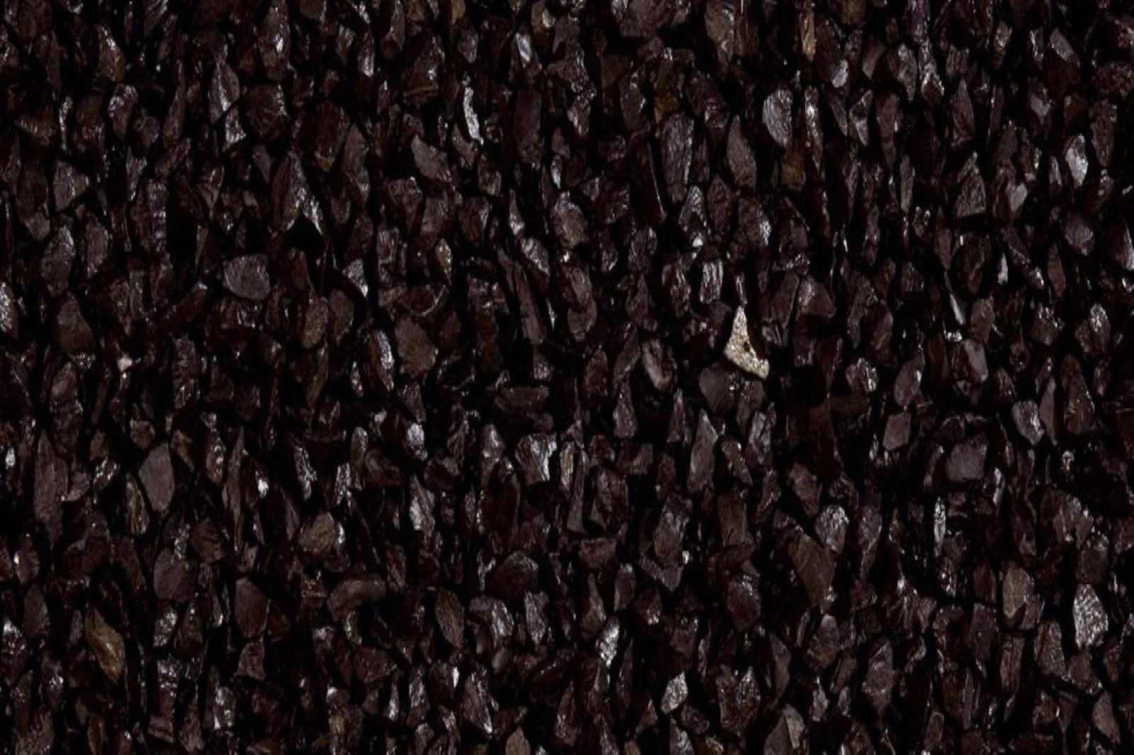 Gartensplitt Ziersplitt Nero Ebano Granulat Marmor schwarz 40 - 60 mm 25 kg