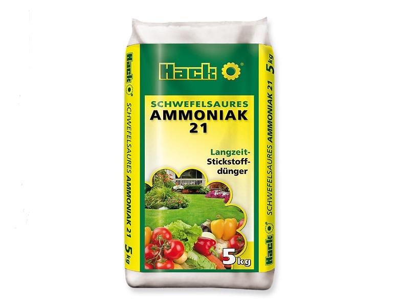 Hack Schwefelsaures Ammoniak Stickstoff Dünger 5 kg Gartendünger