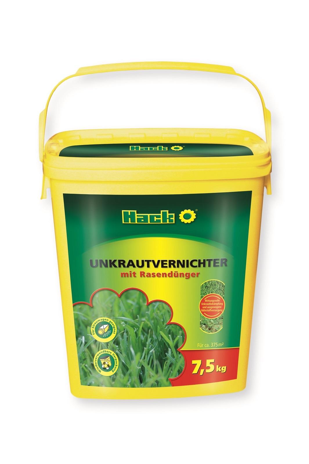 Hack Unkrautvernichter + Rasendünger 7,5 kg