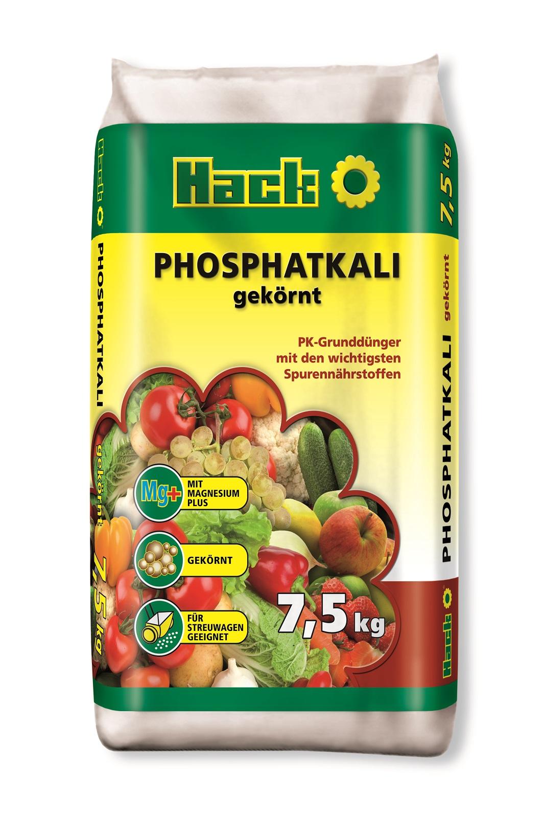 Hack Phosphatkali gekörnt 7,5 kg