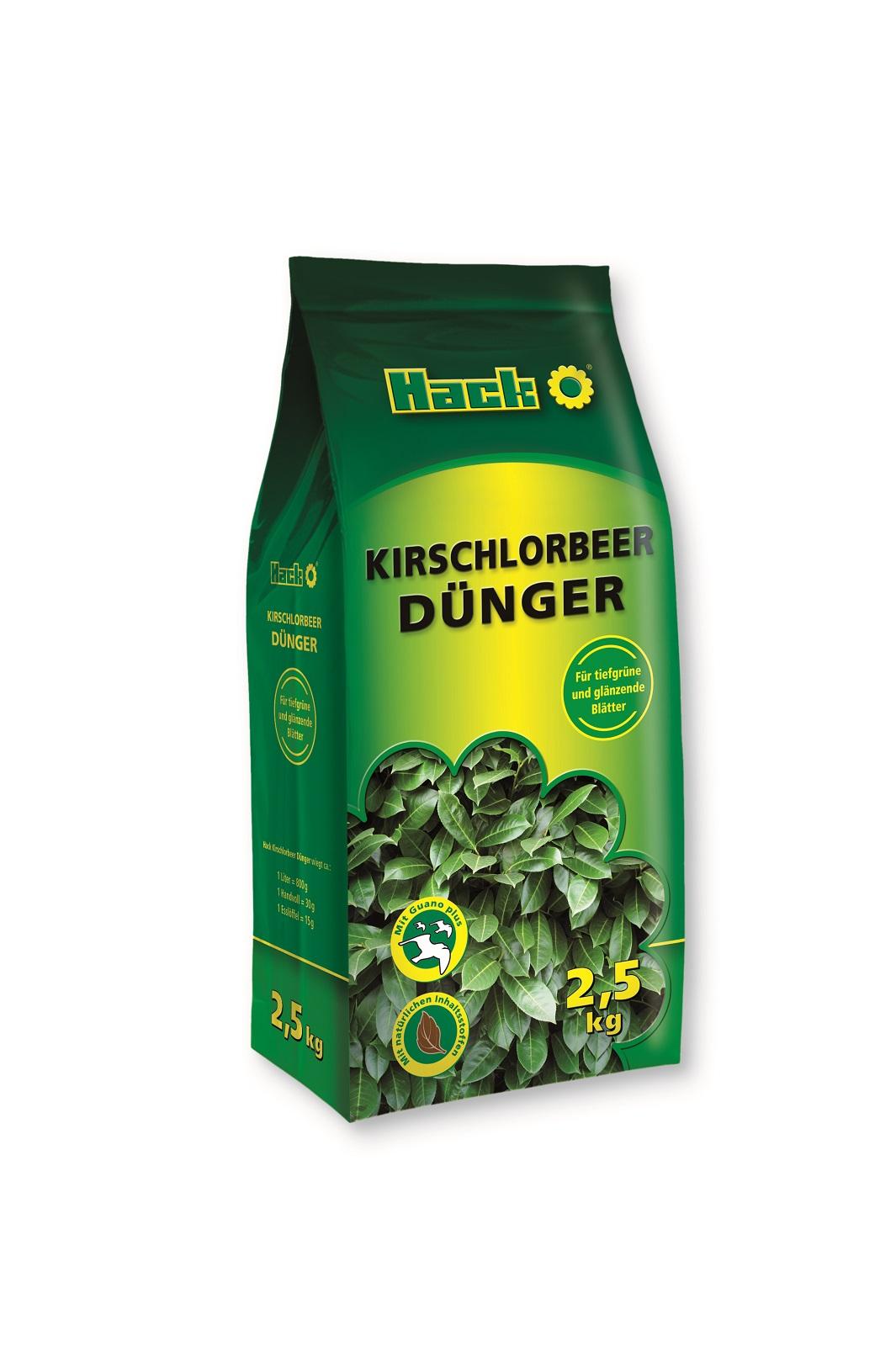 Hack Kirschlorbeerdünger Dünger 2,5 kg