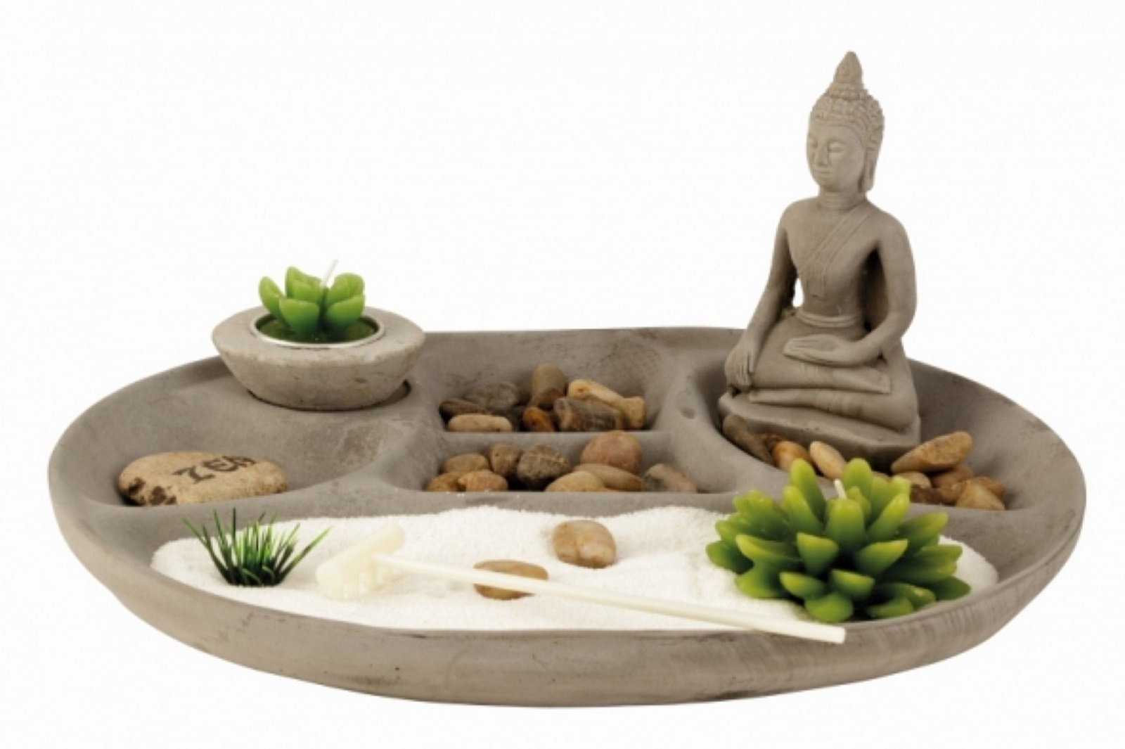 Buddha Zen Set 30x25cm h=14cm