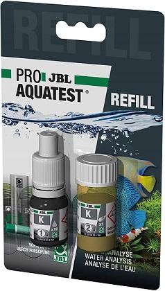 JBL Aquatest K Kalium Refill Wassertest für Teich und Aquarium Nachfüllpack