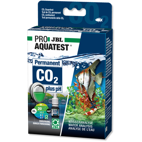 JBL CO2-pH Permanent Aquatest Wassertest Co2 Düngekontrolle Test Set