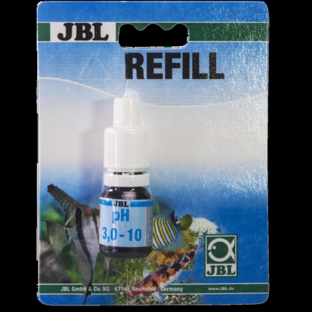 JBL pH 3,0 - 10,0 Wassertest Säuregehalt Aquarium und Teich Nachfüllpack