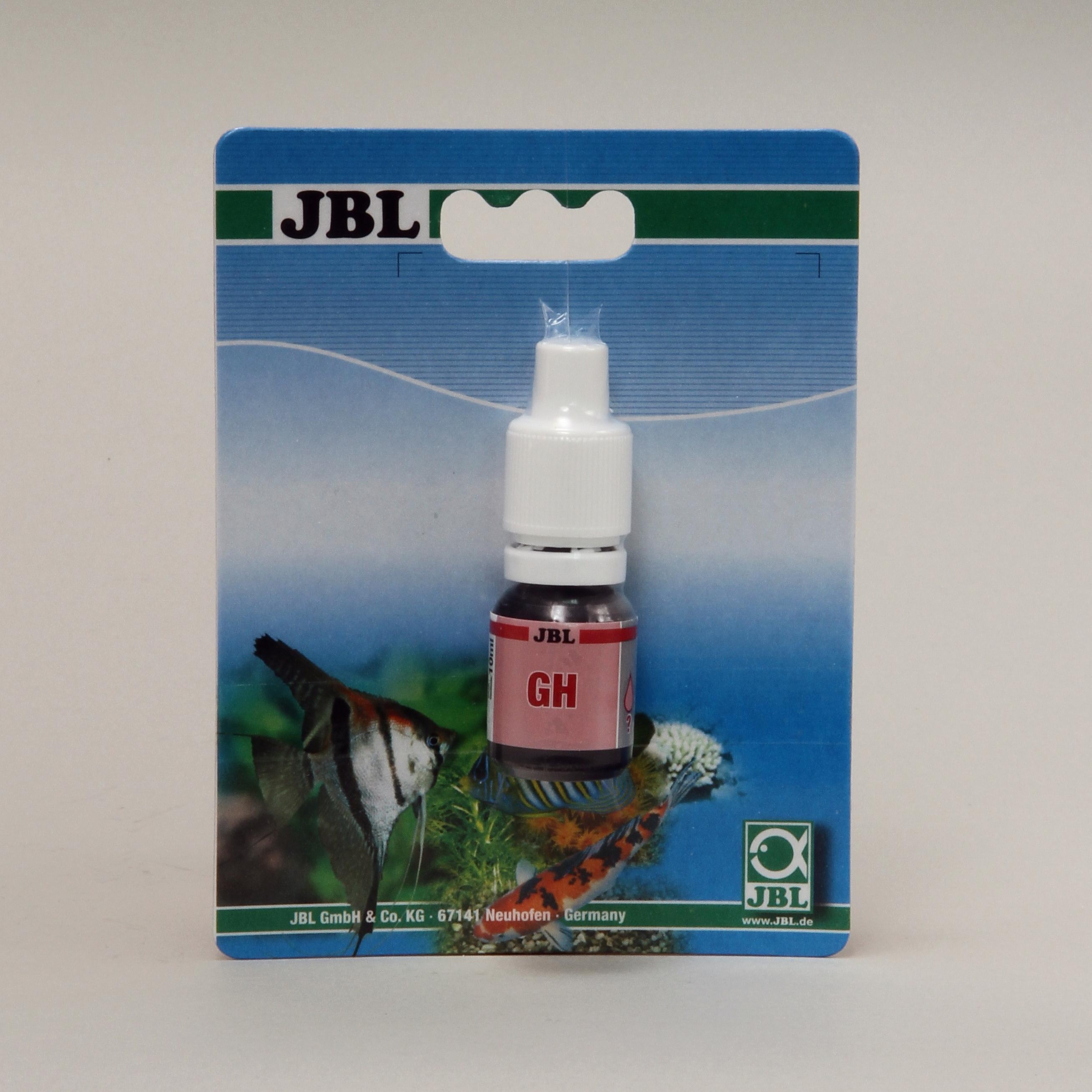 JBL GH Reagens Nachfüllpack für  Gesamthärte-Test  für Süßwasser Wassertests