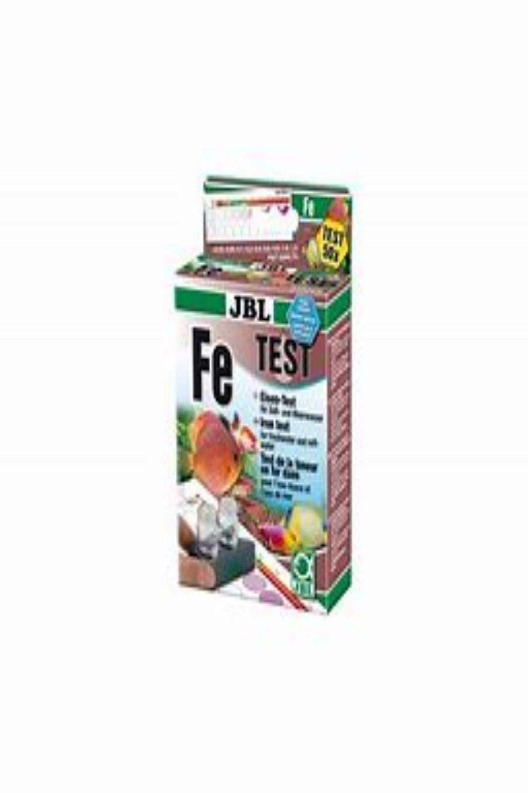 JBL Fe Eisen Test Set für Süßwasser und Salzwasser Wassertest