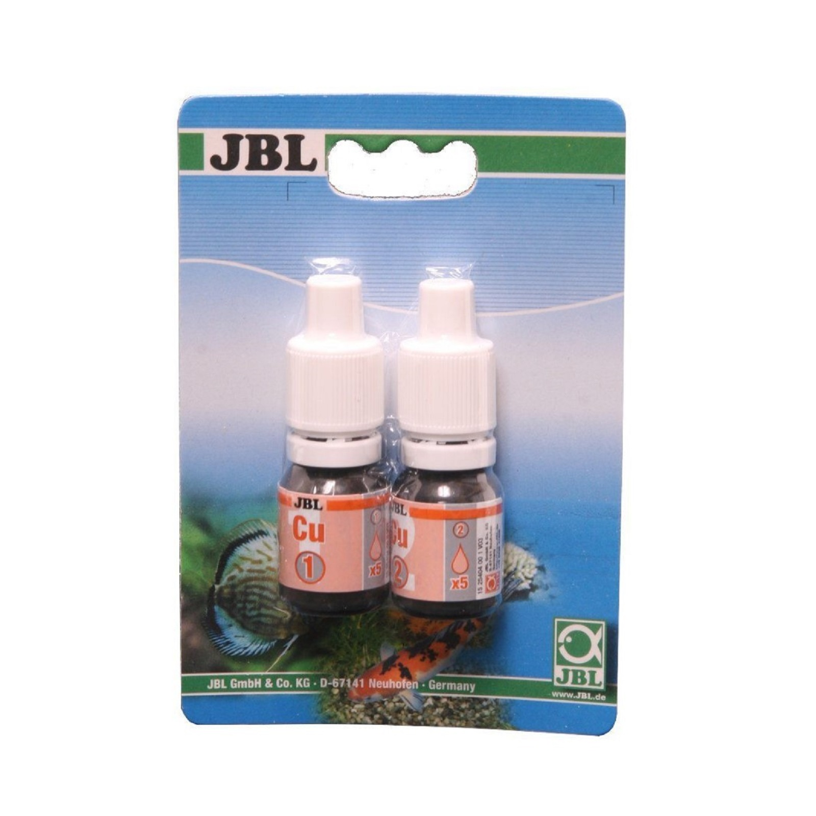 JBL Cu Kupfer Test für Teich und Aquarium Nachfüllpack