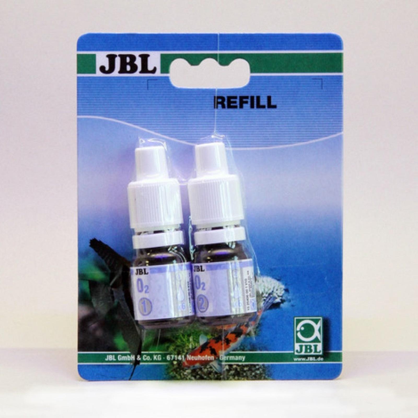 JBL CO2 Direct Reagens Wassertest Nachfüllset