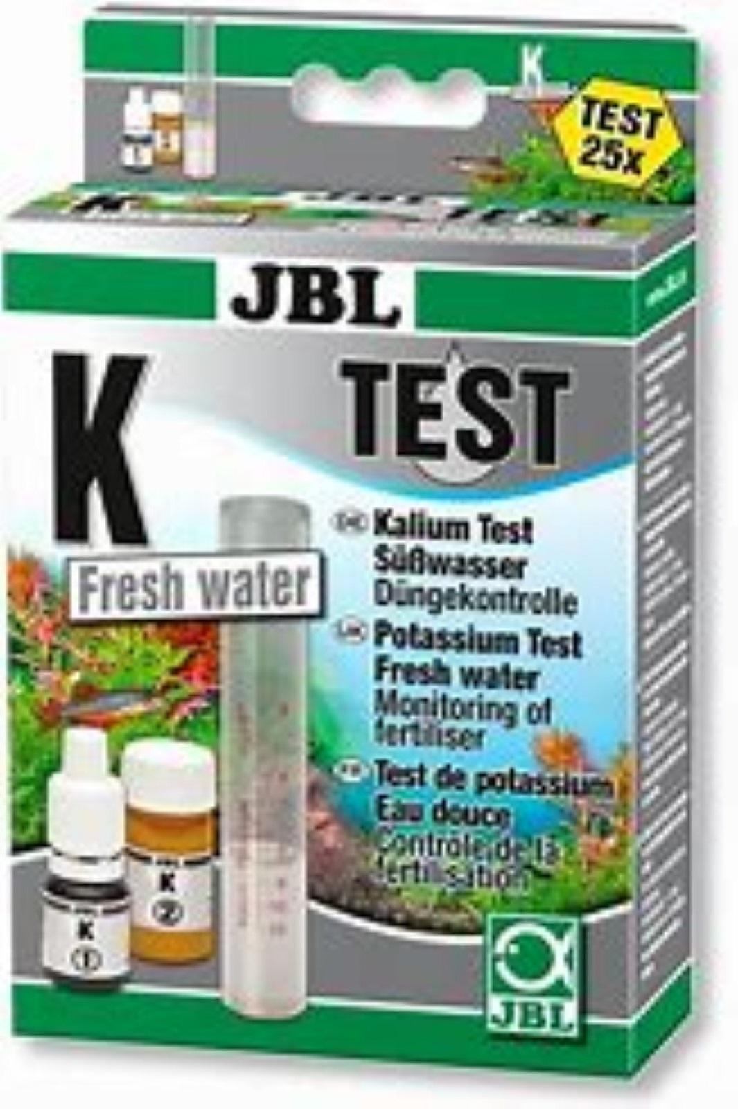 JBL K Kalium Test Set für Süßwasser Düngerkontrolle Wassertest