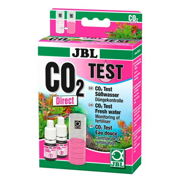 JBL Co2 Direct Test Set Bestimmung Kohlendioxidgehalt Süßwasser Meerwasser