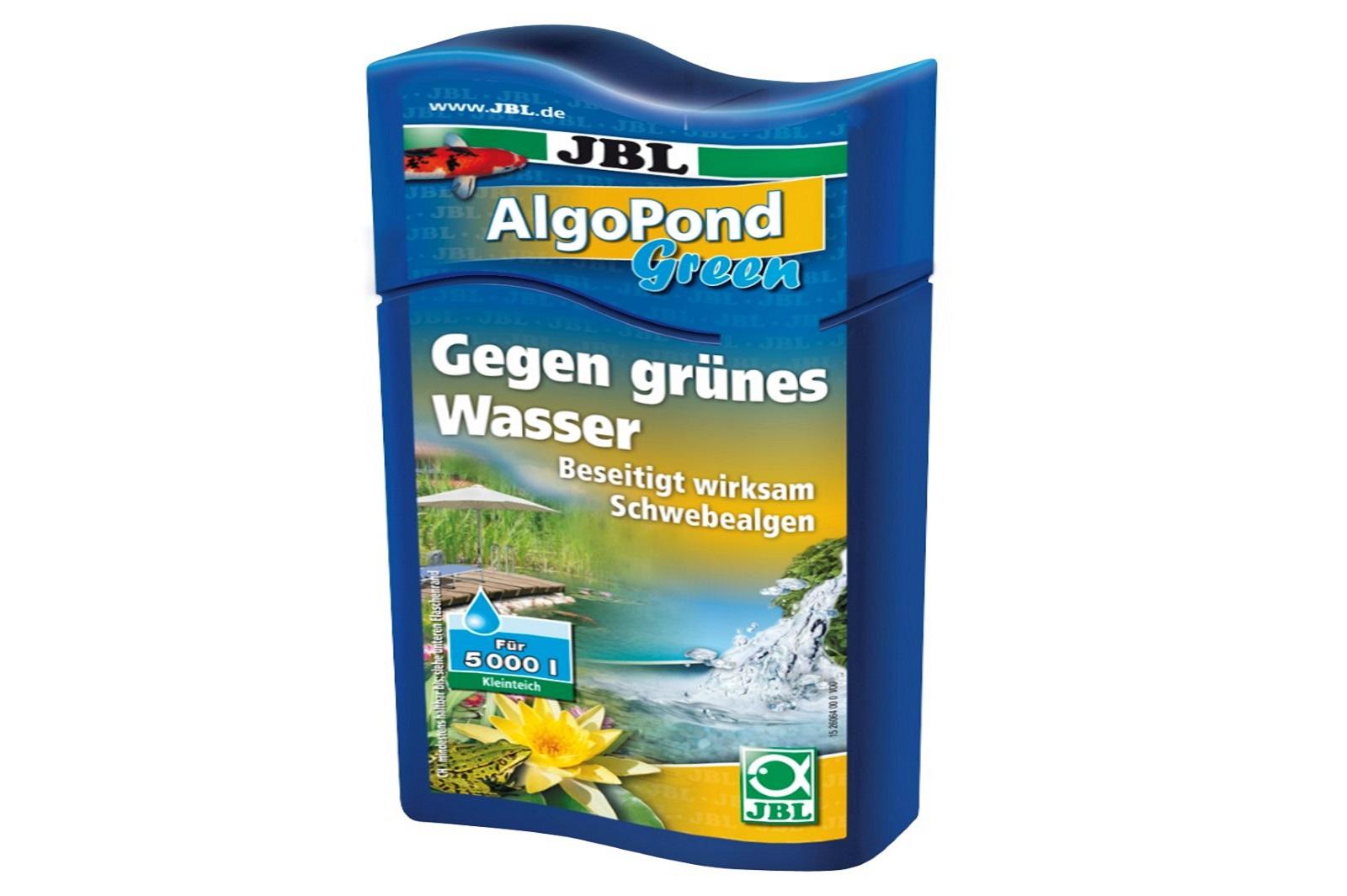 JBL AlgoPond Green 250 ml gegen grünes Wasser löst Algenprobleme