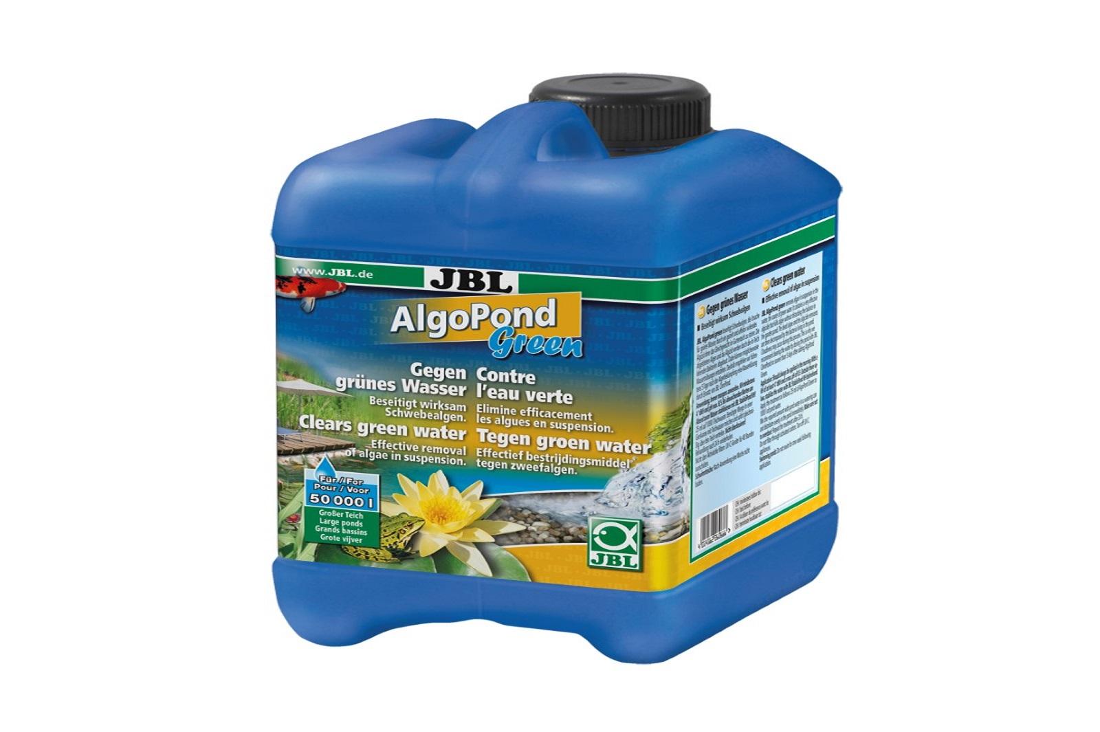 JBL AlgoPond Green 2,5 l gegen grünes Wasser löst Algenprobleme