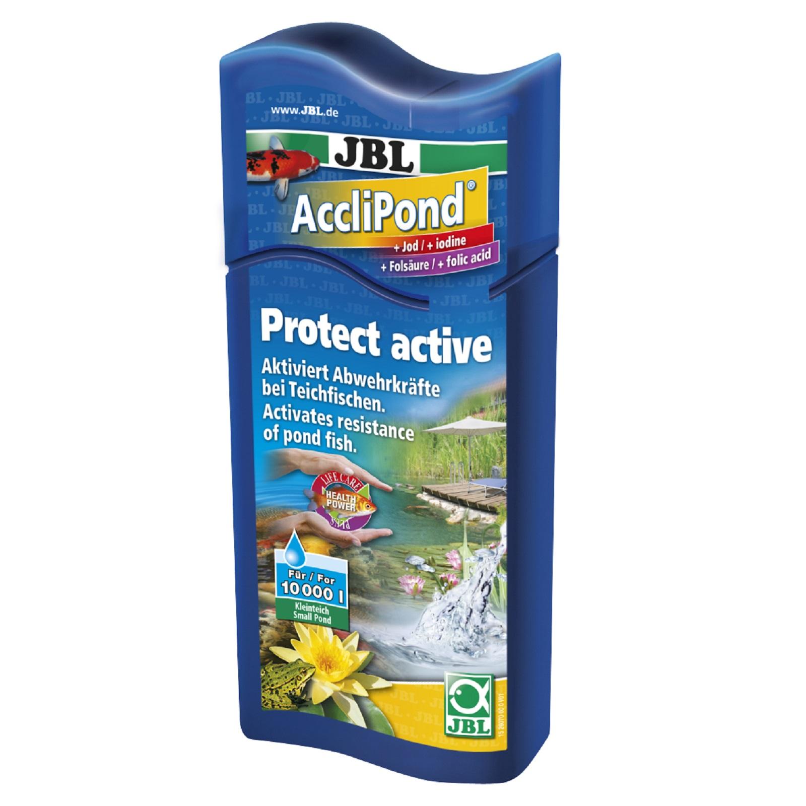 JBL AccliPond 500 ml Fischpflege aktiviert Abwehrkräfte fördert Fischgesundheit