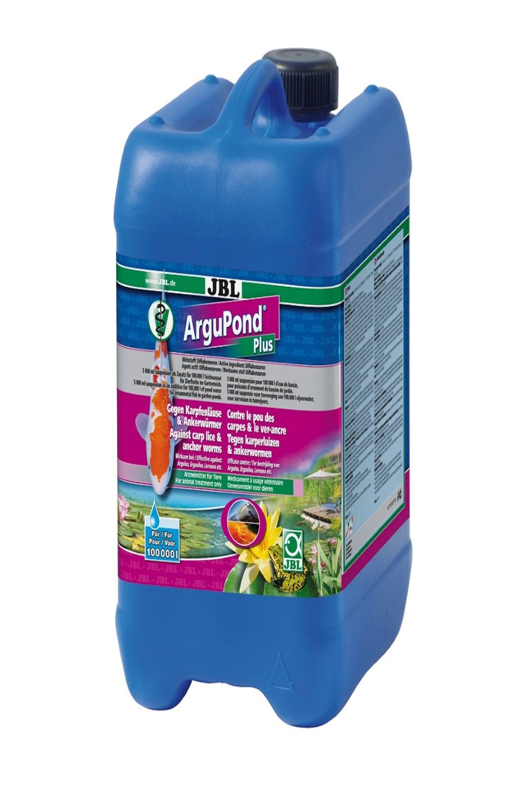 JBL ArguPond Plus 5 l + Heilmittel gegen Karpfenläuse Ankerwürmer Parasiten