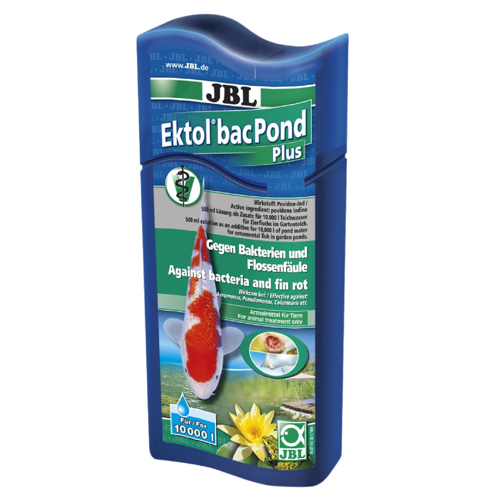 JBL Ektol bac Pond Plus  500 ml Arneimittel gegen bakterielle Erkrankung