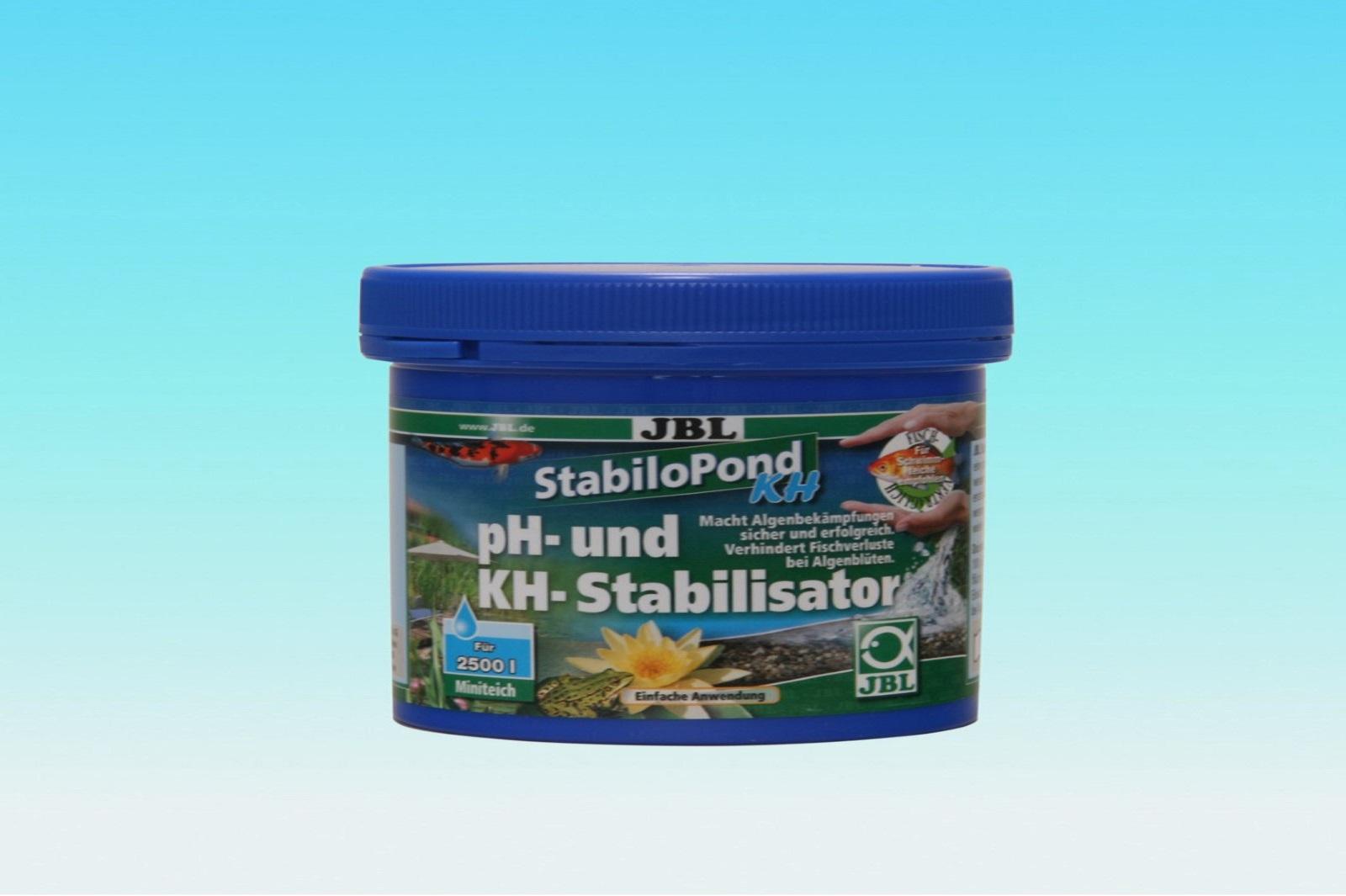 JBL StabiloPond KH 250 g sichere Algenbekämpfung Stabilisator ph + KH