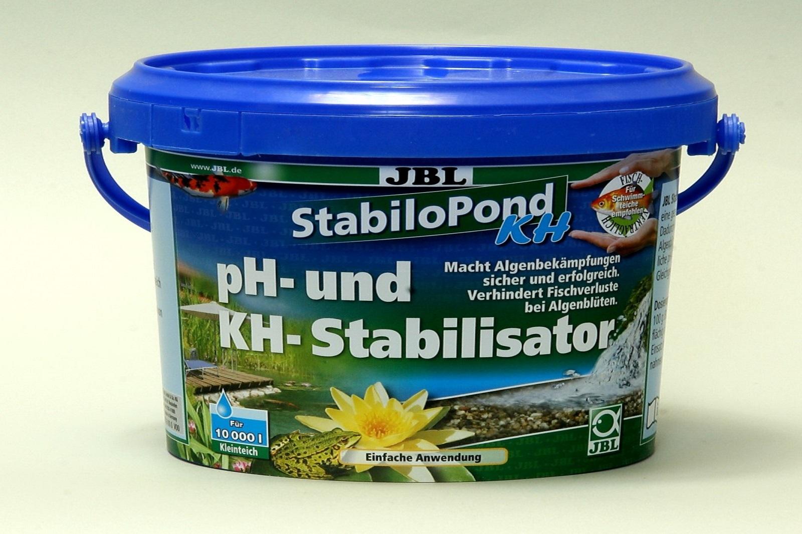 JBL StabiloPond KH 1 kg sichere Algenbekämpfung Stabilisator ph + KH