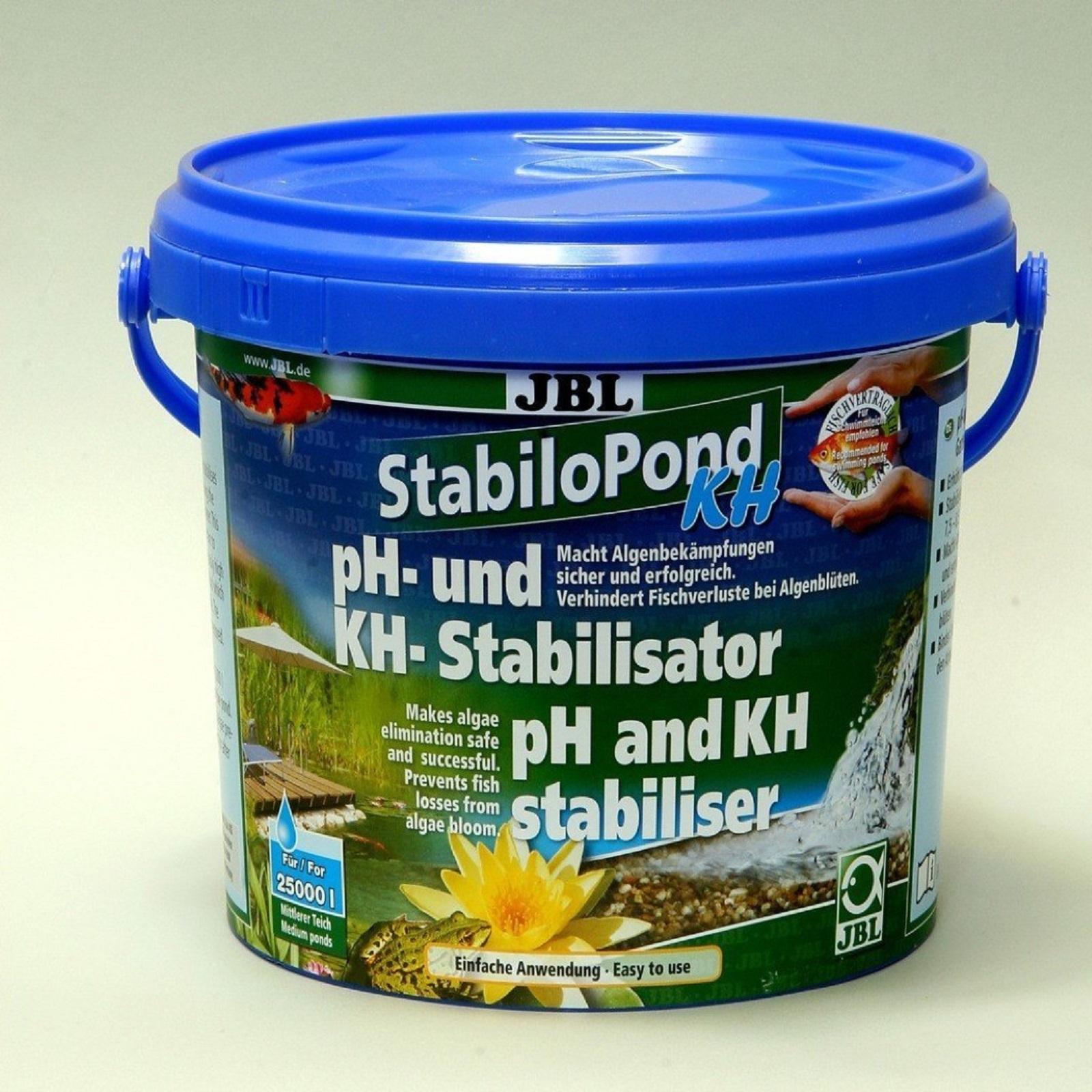 JBL StabiloPond KH 2,5 kg sichere Algenbekämpfung Stabilisator ph + KH