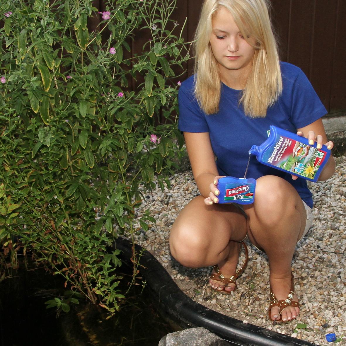 JBL CleroPond 500 ml  Wasserklärer bei Wassertrübungen für Gartenteiche