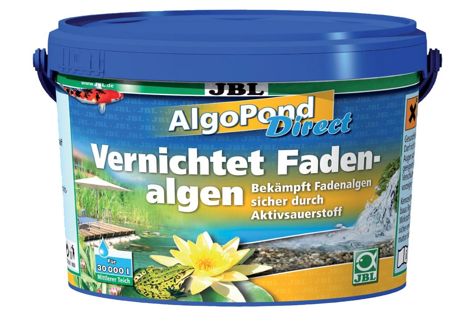 JBL AlgoPond Direct 1 kg   vernichtet Fadenalgen