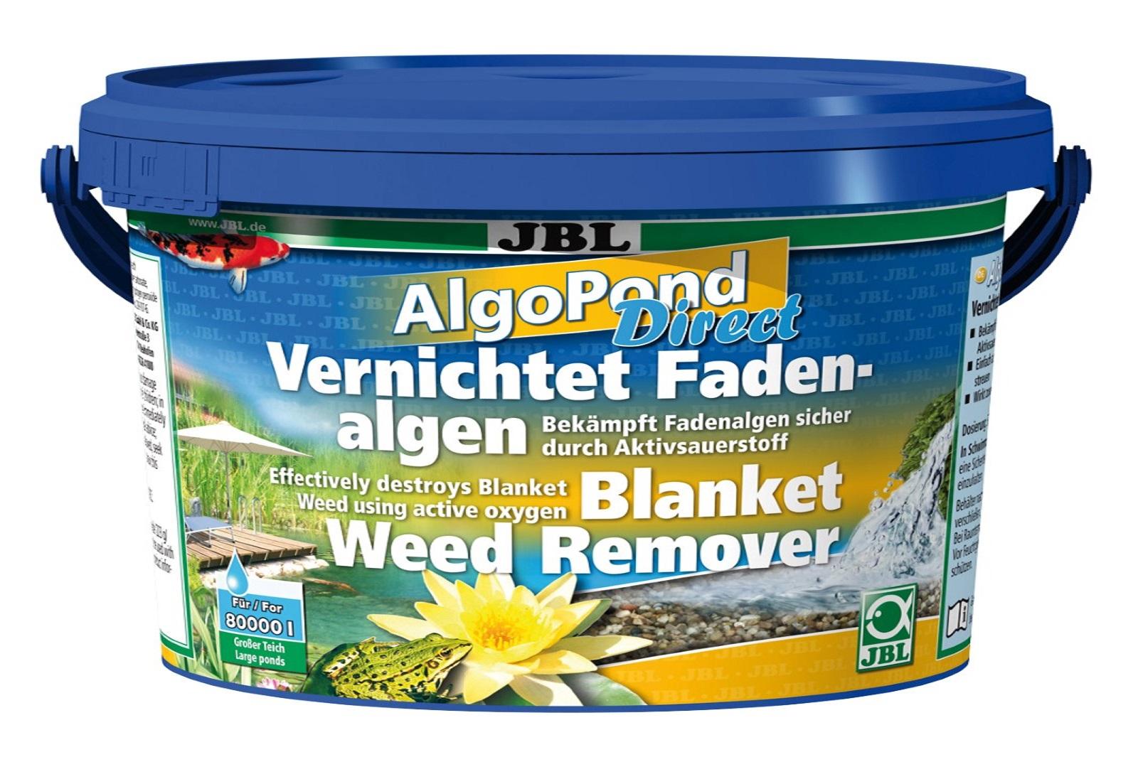 JBL AlgoPond Direct 2,5 kg   vernichtet  Fadenalgen