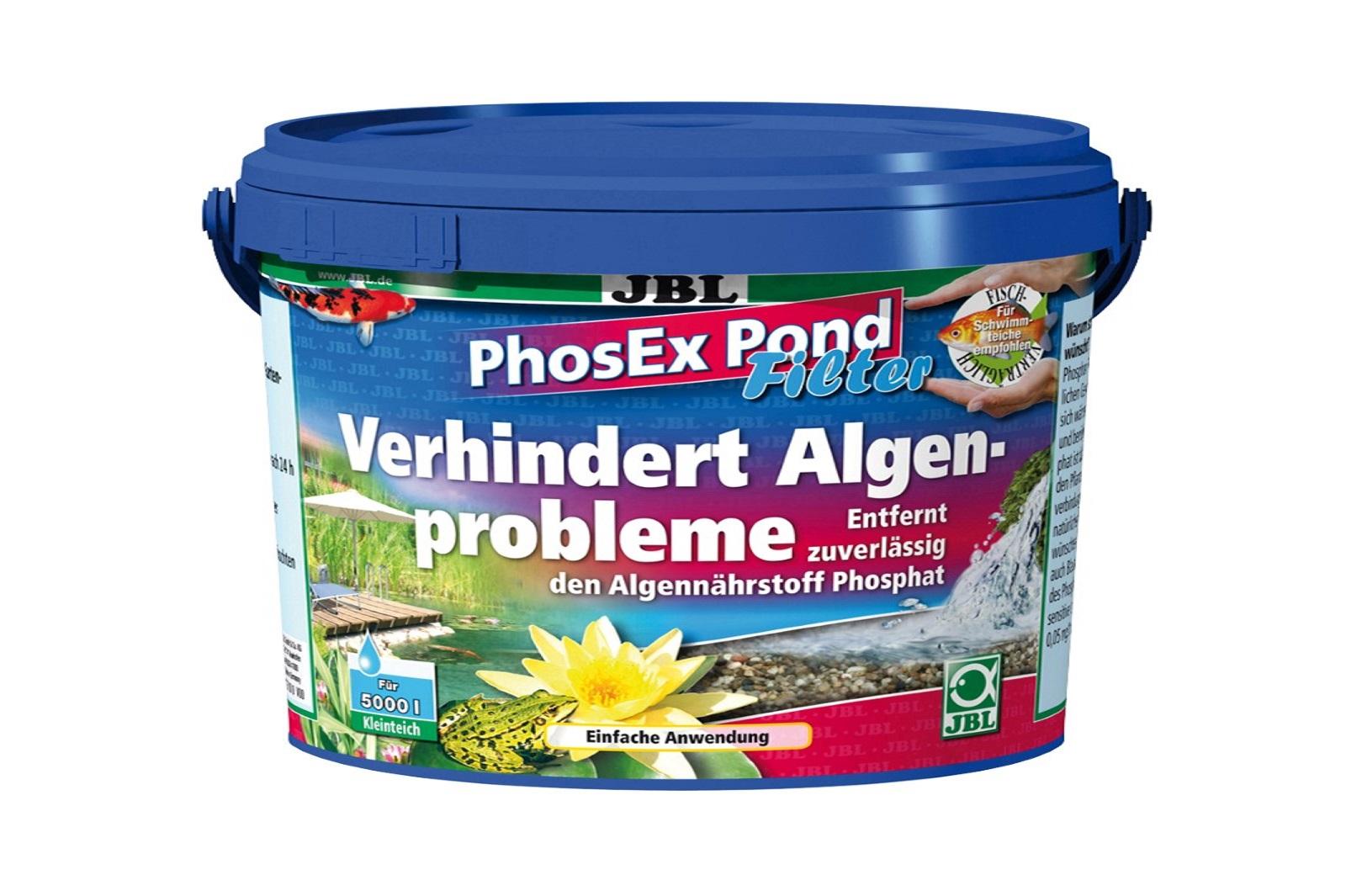 JBL PhosEX Pond  Filter 500 g  Phosphatentferner f.Teichfilter Algenbeseitigung